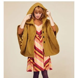 "Steve Madden ""Hood if I Could"" Cape Coat"